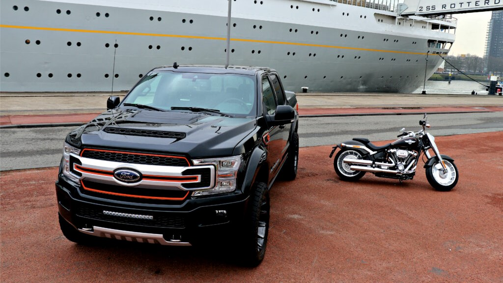 Harley Davidson moto e Truck Agate Black