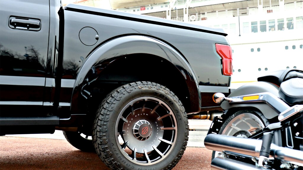 Posteriore Harley Davidson Truck e moto